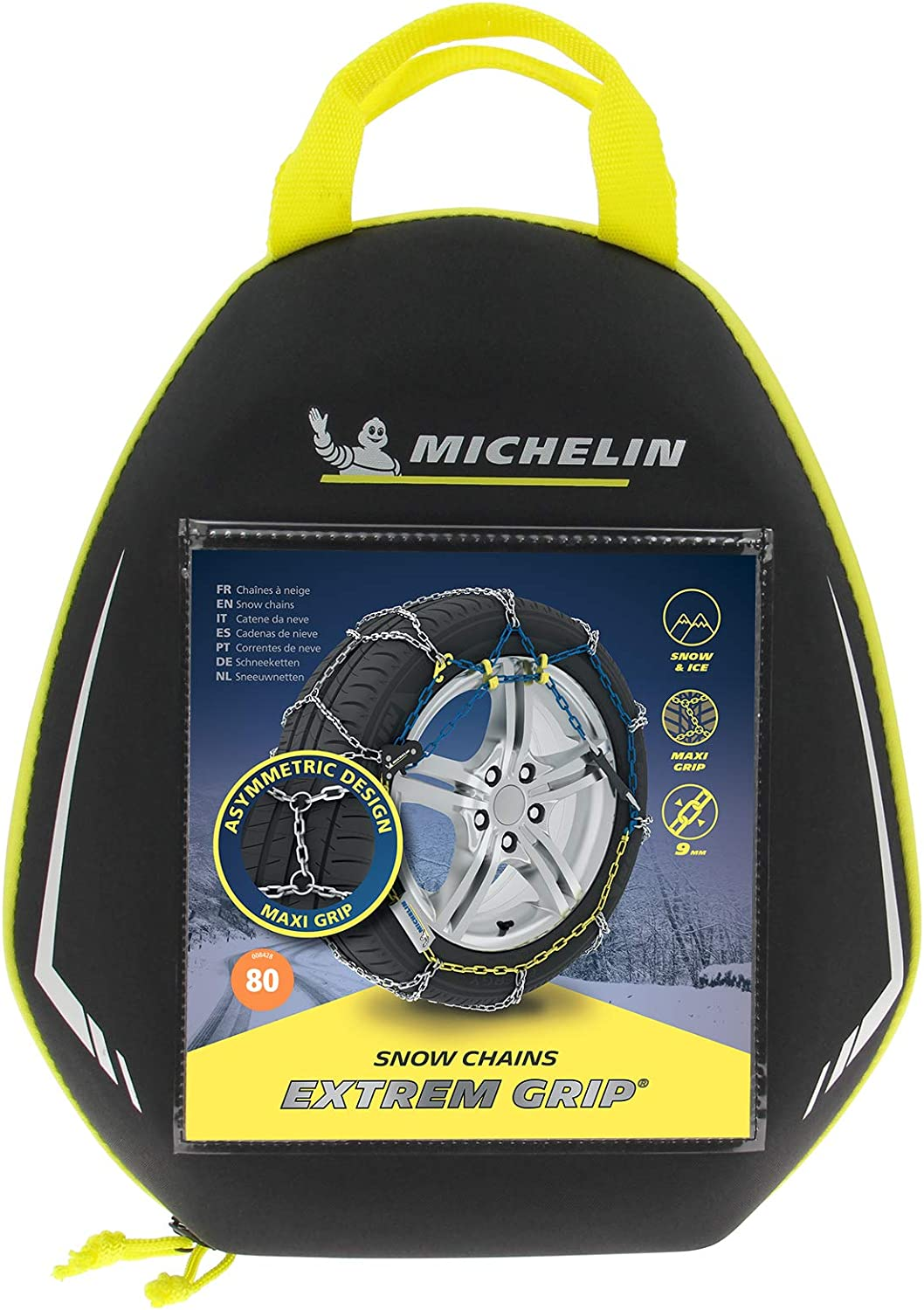 MICHELIN Chaines /à Neige Extrem Grip N/°70 tension autobloquante