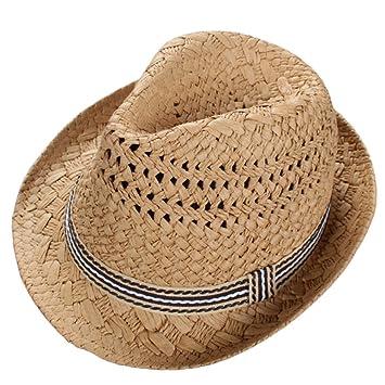Skyeye Sombrero de Paja de los Niños UV de la Manera Visera de Sol del Bebé 83ea75a8df6