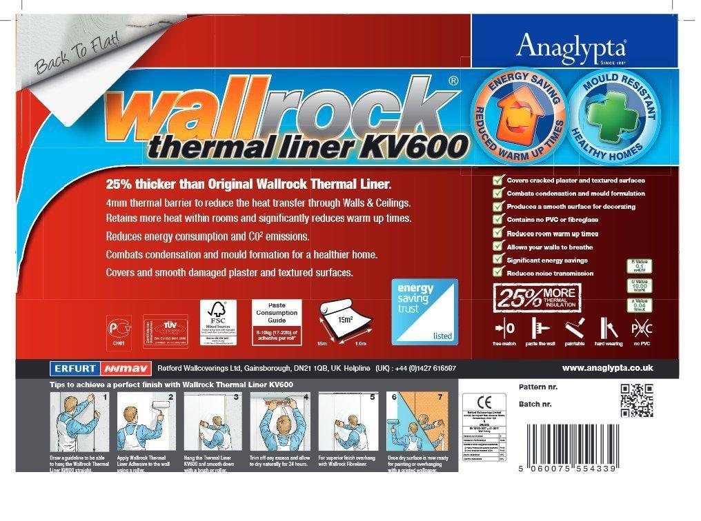 100 cm Thermal Liner Wallpaper Amazon DIY & Tools