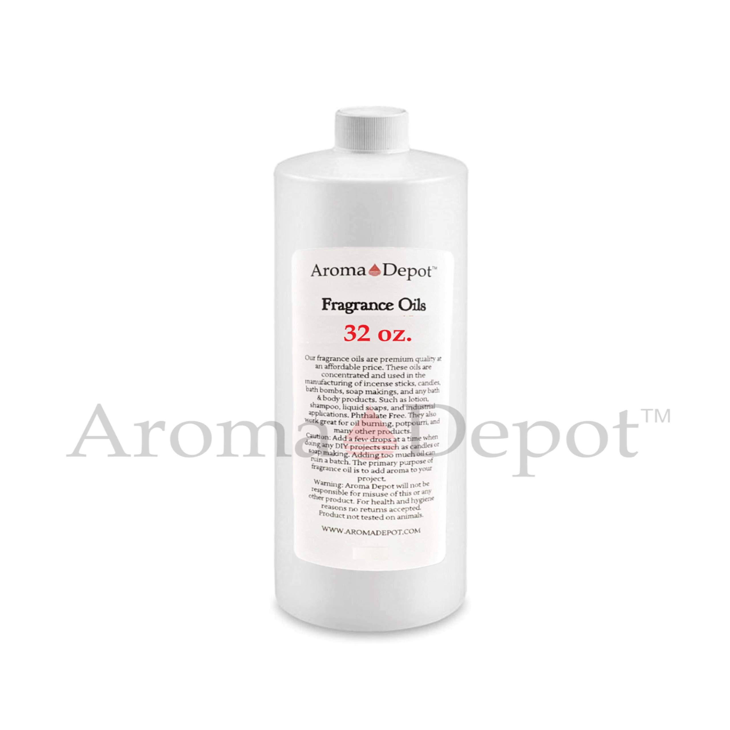 Peach Type Perfume/Body Oil (7 Sizes) Our Interpretation, Premium Quality Uncut Fragrance Oil (32 Ounce Plastic Bottle (960ml)) by Aroma Depot