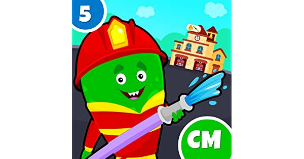 My Monster Town - Fire Station Games for Kids: Amazon.es: Appstore ...
