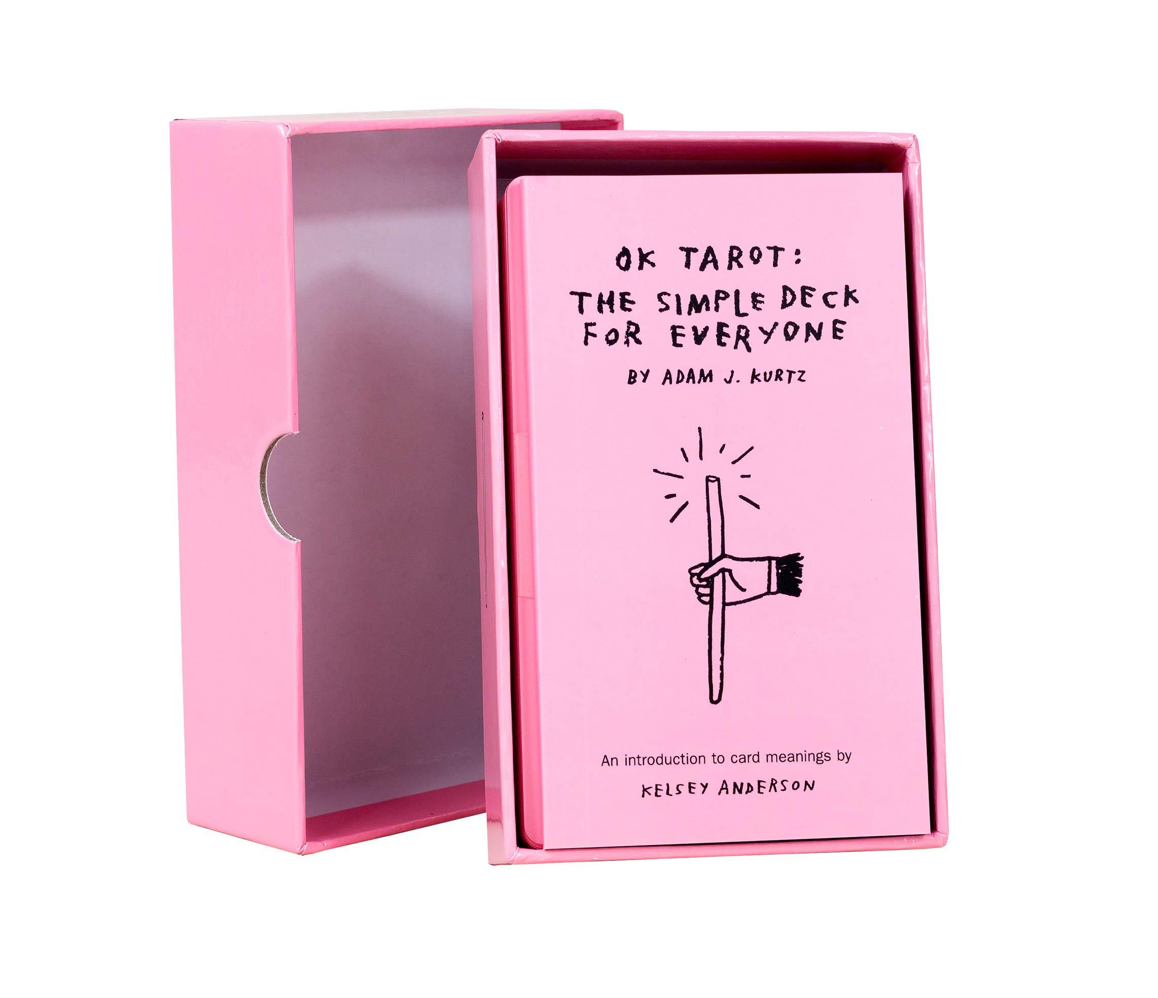 OK Tarot: The Simple Deck for Everyone: Adam J  Kurtz: 9780996907255