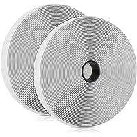 Vegena Klittenband Zelfklevend, 10M 20 mm Breed Extra Sterk Herbruikbaar Dubbelzijdig magische klevende met…