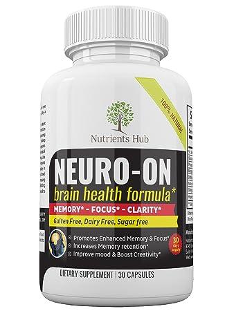 Amazon Com Premium Brain Supplement Brain Booster Promotes Focus