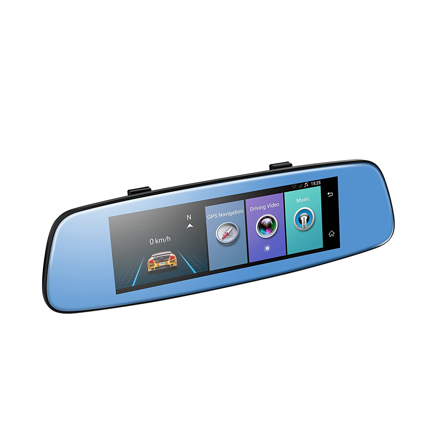 Amazon.com: 4G Car Mirror DVR, 7.84 Inch Touch ADAS Remote Monitor ...