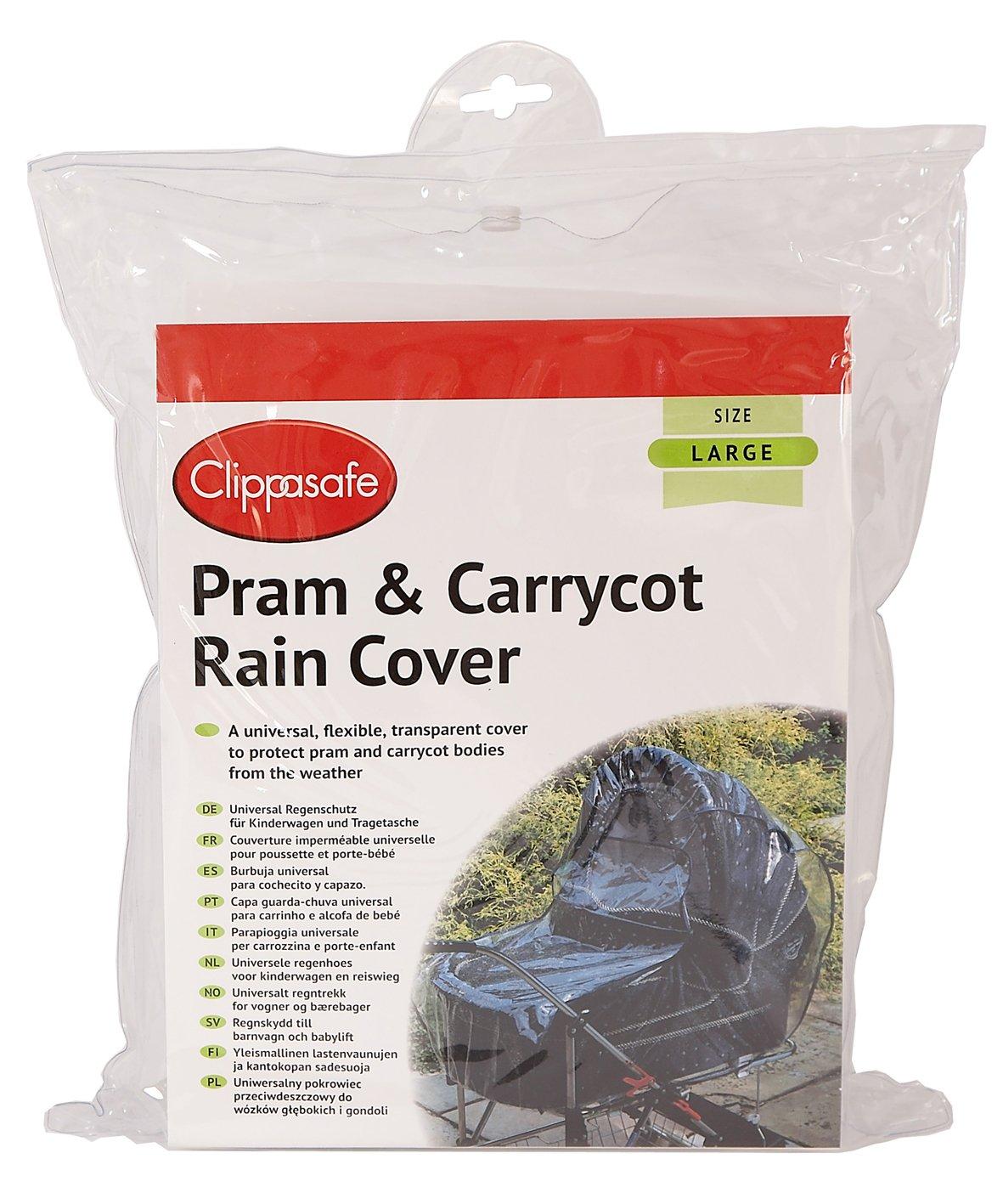 Universal Pram Carry Cot Raincover