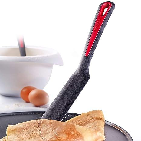 Westmark Cucharón para Salsas Resistente al Calor, Negro/Rojo, 33 x 3.5 x
