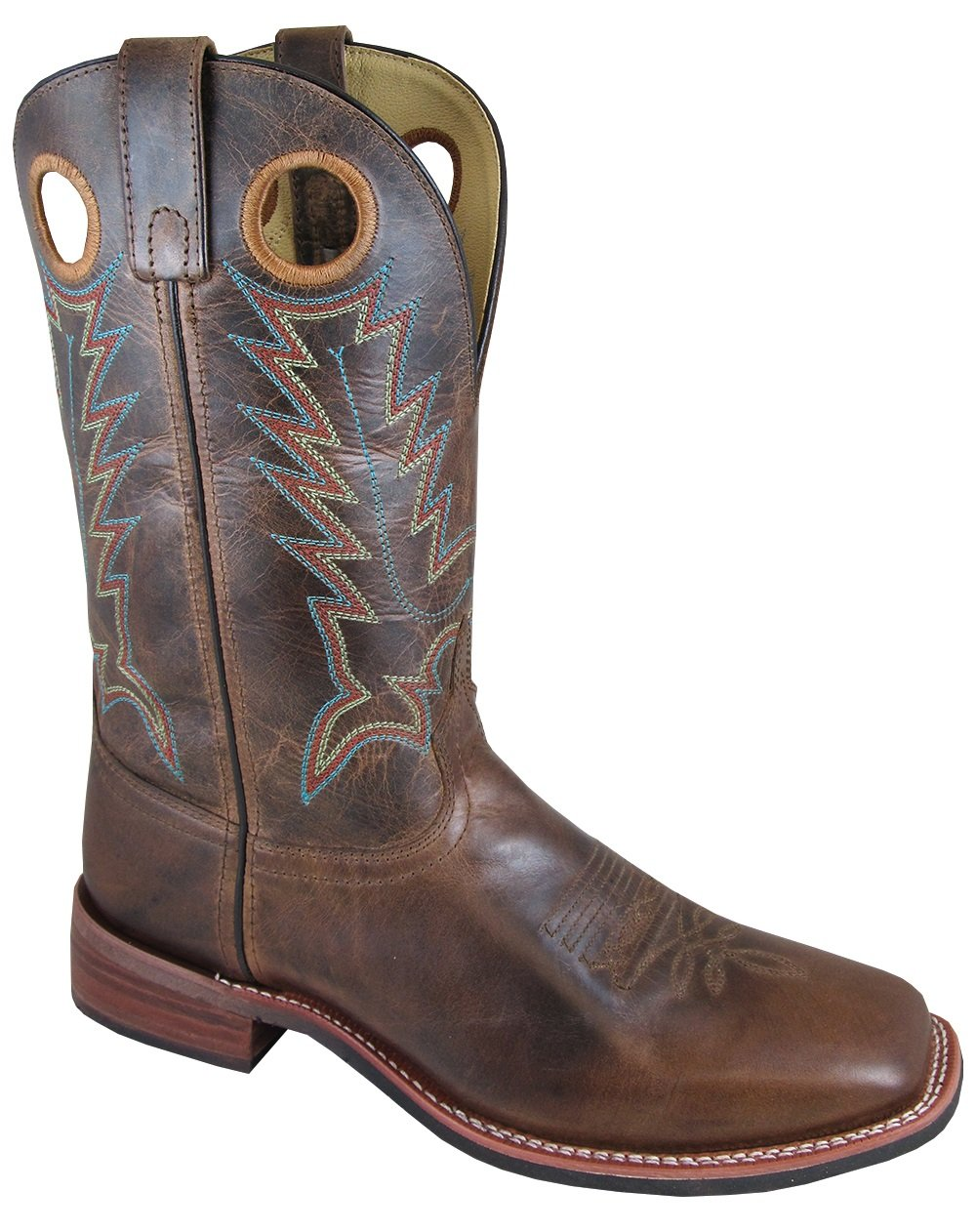 Smoky Mountain Men's Blake Western Boot Square Toe - 4655 B01M3T02X5 8.5 D(M) US|Brown