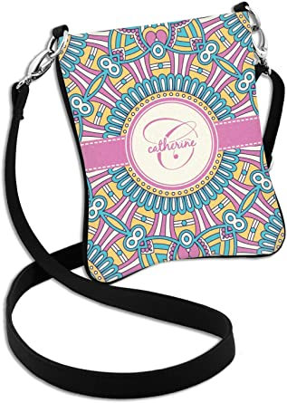 Bohemian Art Messenger Bag Personalized