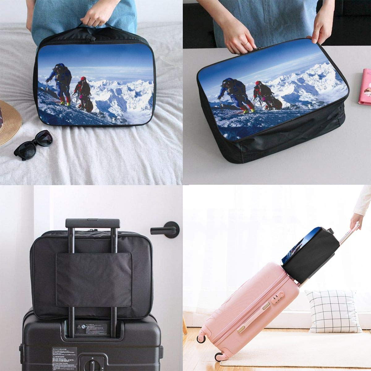 Travel Luggage Duffle Bag Lightweight Portable Handbag Rock Climbing Large Capacity Waterproof Foldable Storage Tote