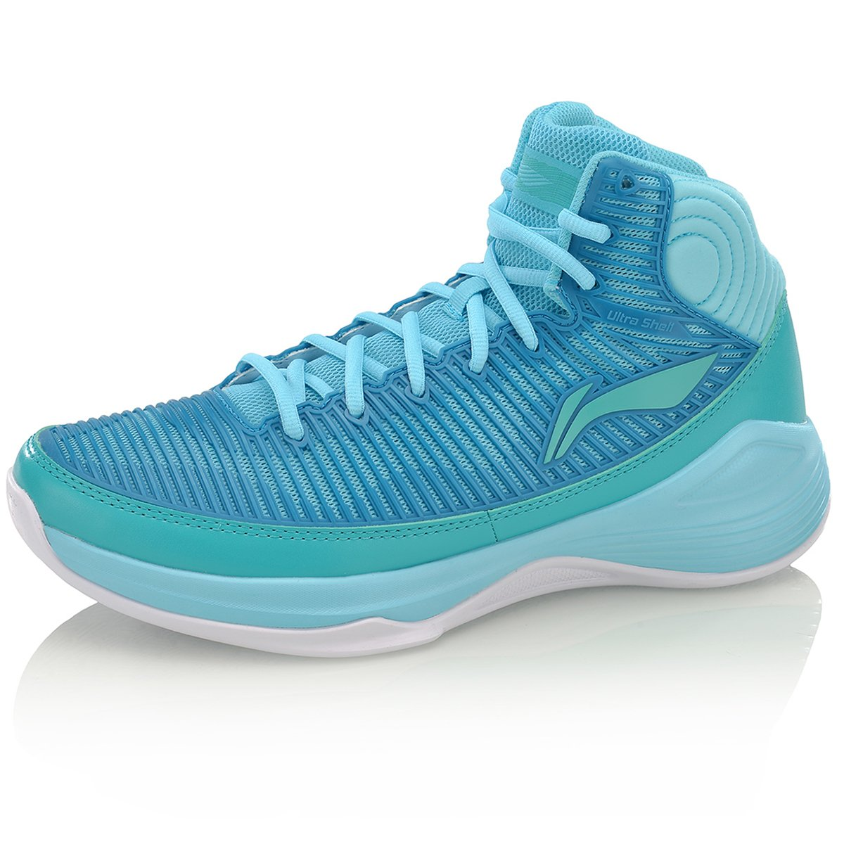 LI-NING Men Quickness Basketball Shoes Support Ultra Shell Sneakers Stability Dynamic Shell Sports Shoes B078HZBGRB US SIZE 10.5 FEET LENGTH 280MM|3h Men