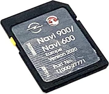 Tarjeta SD 2020/2021 para Opel/Vauxhall SD Card Navigation Map 2020/2021 Navi 600/900 Sat Nav Cover All Europe Número de pieza: T1000-27771: Amazon.es: Electrónica