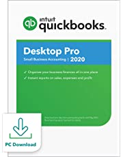 $189 » QuickBooks Desktop  Pro 2020  Accounting Software for Small Business with Amazon Exclusive Shortcut Guide [PC Download]