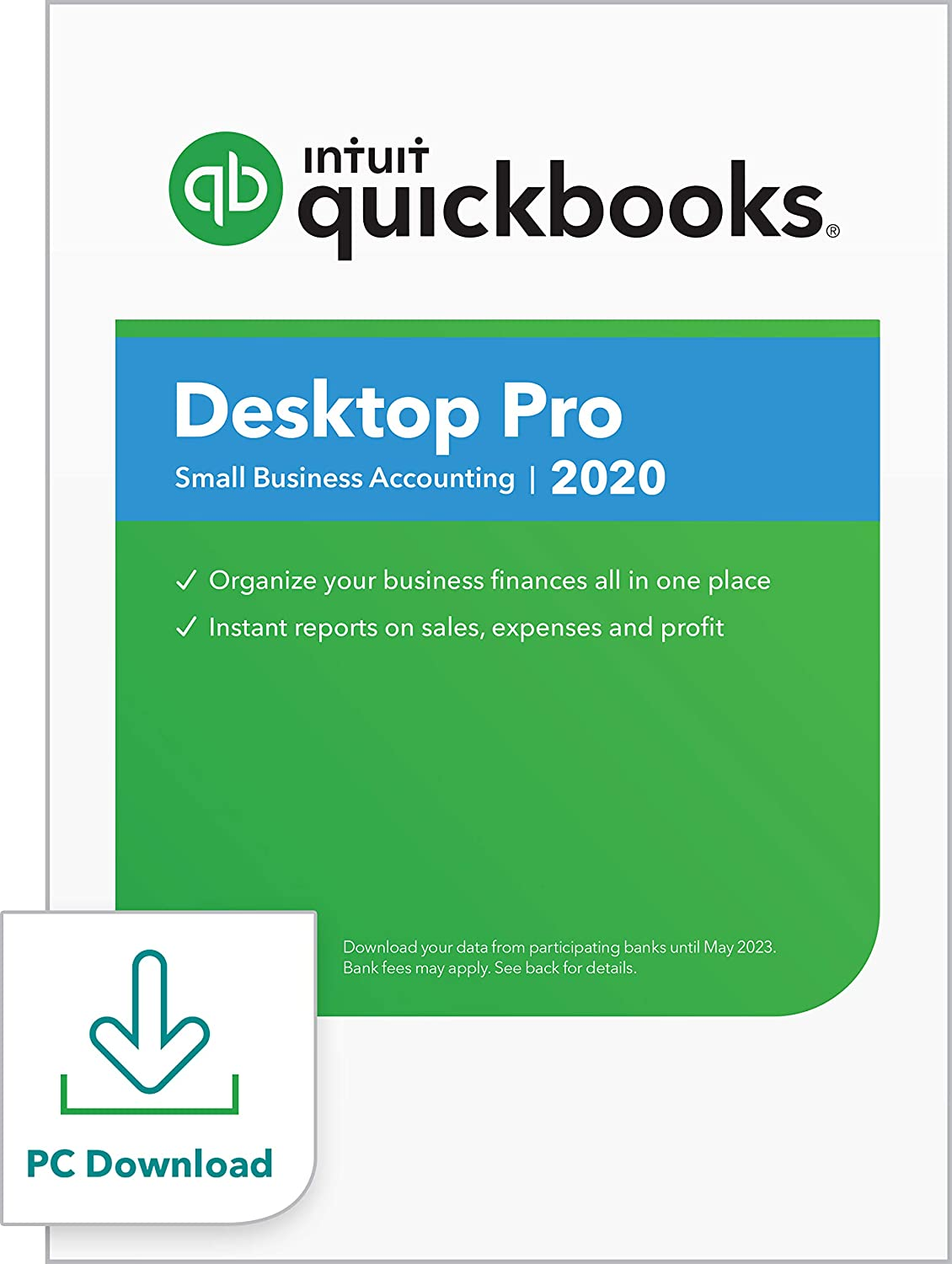 QuickBooks DesktopPro 2020Accounting Software for Small Business withShortcut Guide [PC Download]