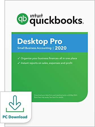 Amazon.com: QuickBooks Desktop Pro 2020 Accounting Software for ...