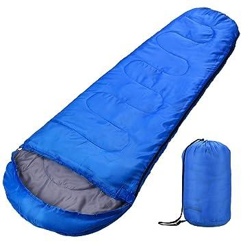 Saco de dormir, ligero, compacto, impermeable, tipo momia, con