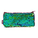 Amazon Price History for:Style.Labs Magic Mini Sequin Pouch, Mermaid/Iridescent Black (76585)