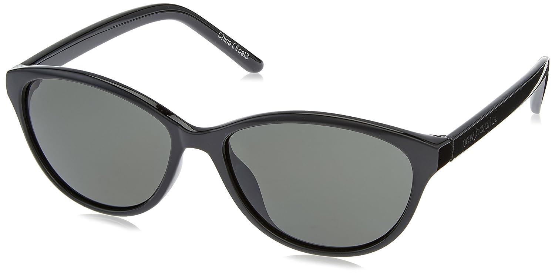 f1c357dae33082 Amazon.com : New Balance Grace Sunglasses, Shiny Black, Round : Sports &  Outdoors