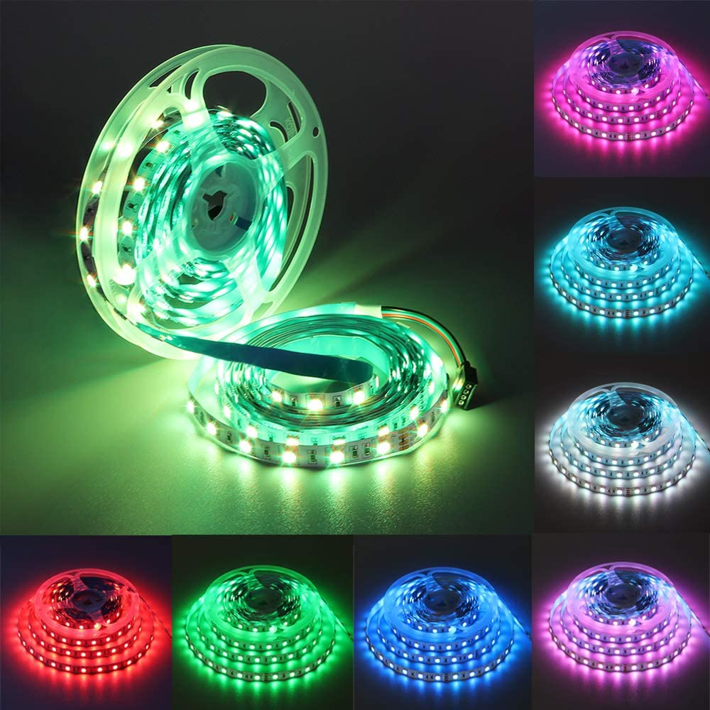 5M 24V 300 LED Flexible Strip Tape Light 5050 LED Waterproof Party Home  3 3