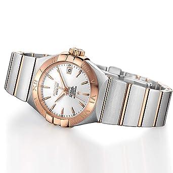 Amazon.com: ROCOS - Reloj de pulsera automático para mujer ...