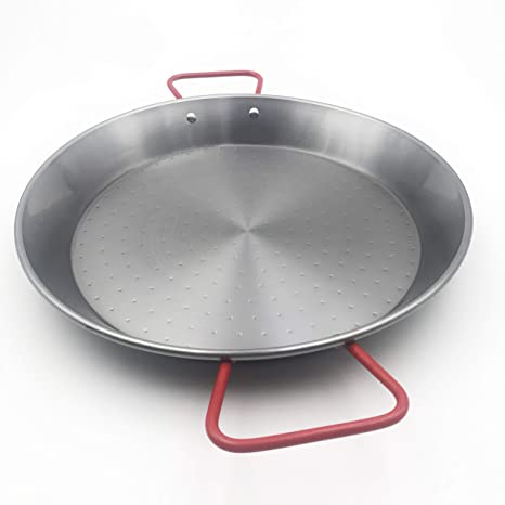 Amazon.com: Sunny Spain SSP11138 Valencian Steel Paella Pan ...