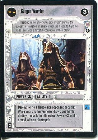Star Wars CCG Coruscant Common Gungan Warrior