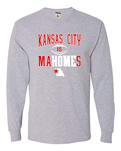 designer fashion 12ad6 bc098 Go All Out Adult Kansas City is Mahomes Long Sleeve T-Shirt