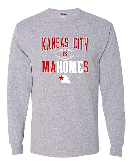 designer fashion 28fbf f8fe9 Go All Out Adult Kansas City is Mahomes Long Sleeve T-Shirt