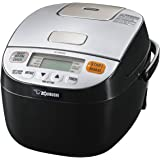 Zojirushi Micom Rice Cooker & Warmer, Silver Black