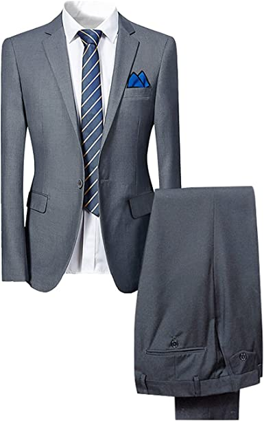 Cloudstyle Traje suit hombre 2 piezas chaqueta chaleco pantalón ...