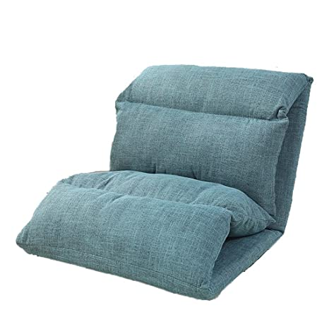 Tumbona Lazy Sofa Single Floor Bed Chair ángulo Ajustable ...
