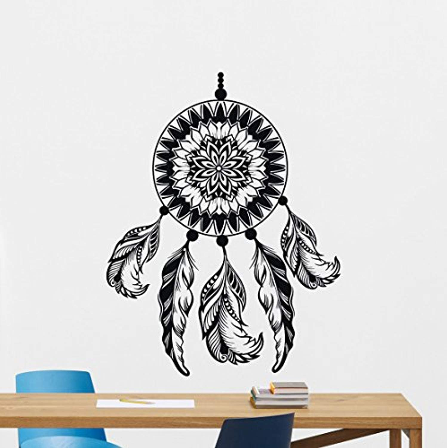 Amazon Com Dream Catcher Wall Decal Amulet Feather Vinyl Sticker