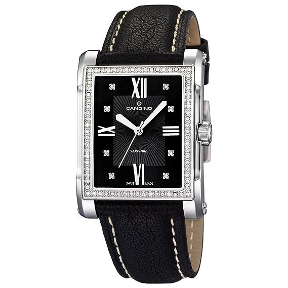 Candino Elegant C4437/5 Reloj de Pulsera para mujeres Con cristales: Amazon.es: Relojes