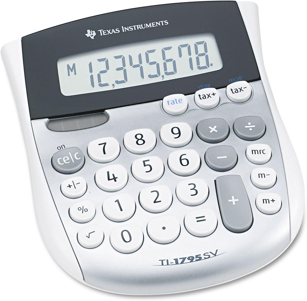 Texas Instruments TI-1795SV Minidesk Calculator