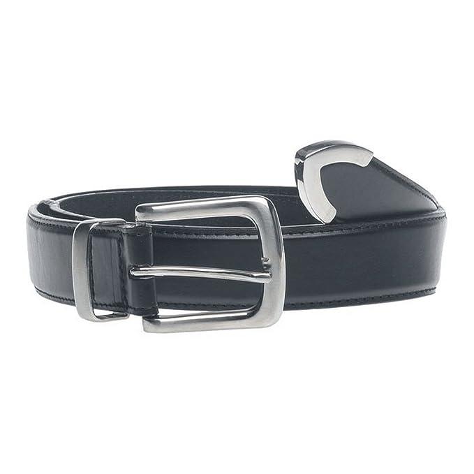 Duke D555 - Cinturón con punta metálica en talla grande modelo Joseph para  hombre (111cm b0dcd506a102
