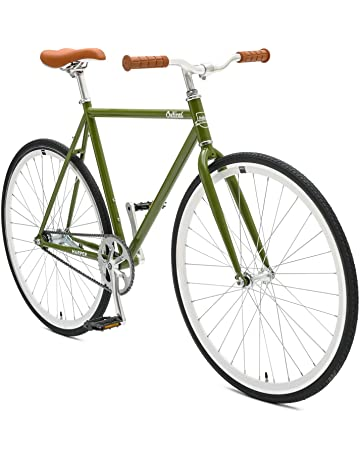 af095b67493 Retrospec Critical Cycles Harper Coaster Fixie Style Single-Speed Commuter  Bike with Foot Brake