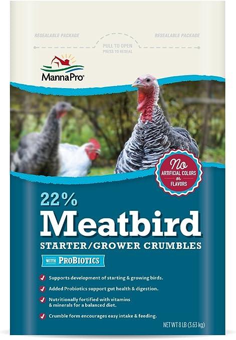 20LB Chicken Starter NON MEDICATED CHICK STARTER FEED POULTRY DUCK GAMEBIRD