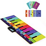 Joyjoz Kids Piano Mat, Musical Toys with 100 Plus Melodies, Floor Keyboard with Play, Record, Playback and Demo Modes…