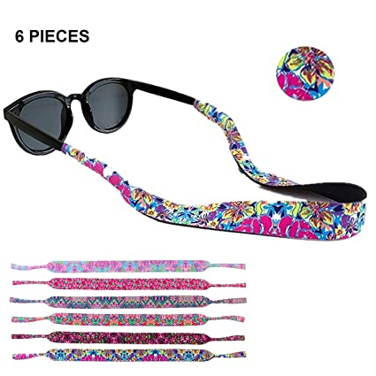 Amazon.com: Tiras para gafas de sol, sujetador de gafas ...
