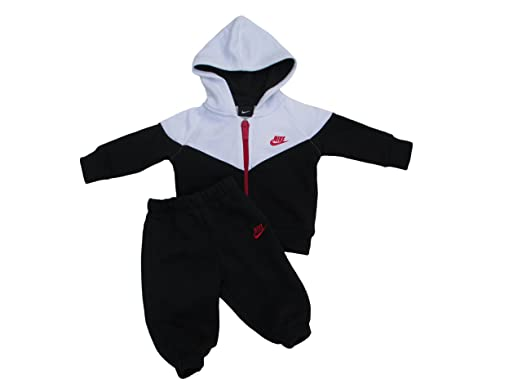 392ff1ed6c47d Ensemble bébé Nike Black/White (18-24 mois): Amazon.fr: Sports et ...