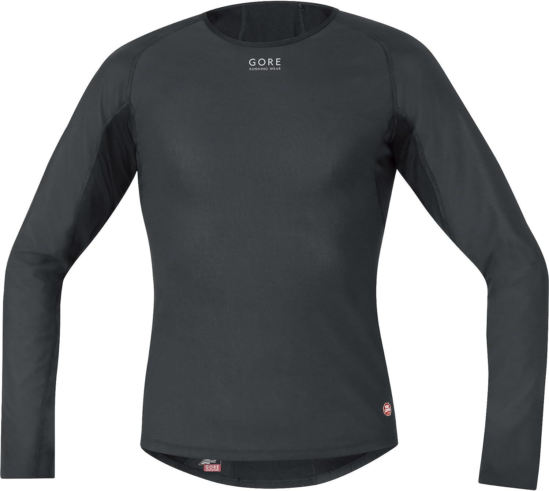Gore running Wear Essential Base Layer Windstopper Lady Termo Manga Larga - Camiseta de Running para Hombre: Amazon.es: Zapatos y complementos