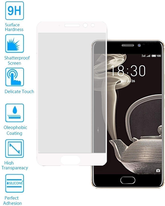 Todotumovil Protector de Pantalla Meizu Pro 7 Blanco Completo 3D ...