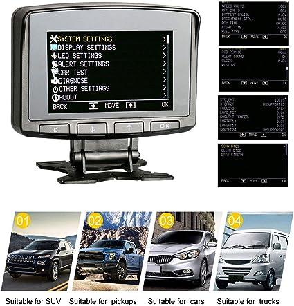 AUTOOL Car OBD2 HUD Overspeed Alarm Speedometer Computer Display Digital Meter