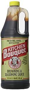 Kitchen Bouquet Browning & Seasoning Sauce, 32 oz