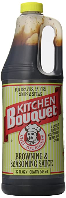 Amazon.com : Kitchen Bouquet Browning and Seasoning Sauce, 32 Ounce ...
