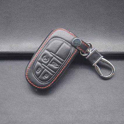 1c1db64d6e9a Amazon.com: YUSHHO56T Car Key Case Interior Decoration Key Pouch 4 ...