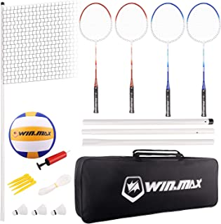 Win.Max Badminton & Federball Volleyball Sets
