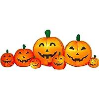 Airflowz 8' Pumpkin Patch Inflatable Halloween Decoration