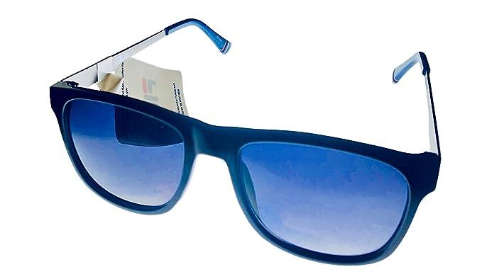 968790e457d Fila Mens Black Blue Soft Square Sunglass SF9287. 0Z42  Amazon.co.uk ...