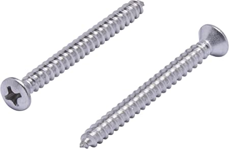"""Sheet Metal Screws Stainless Steel Phillips Oval Head #10 x 7//8/"""" QTY 50"""